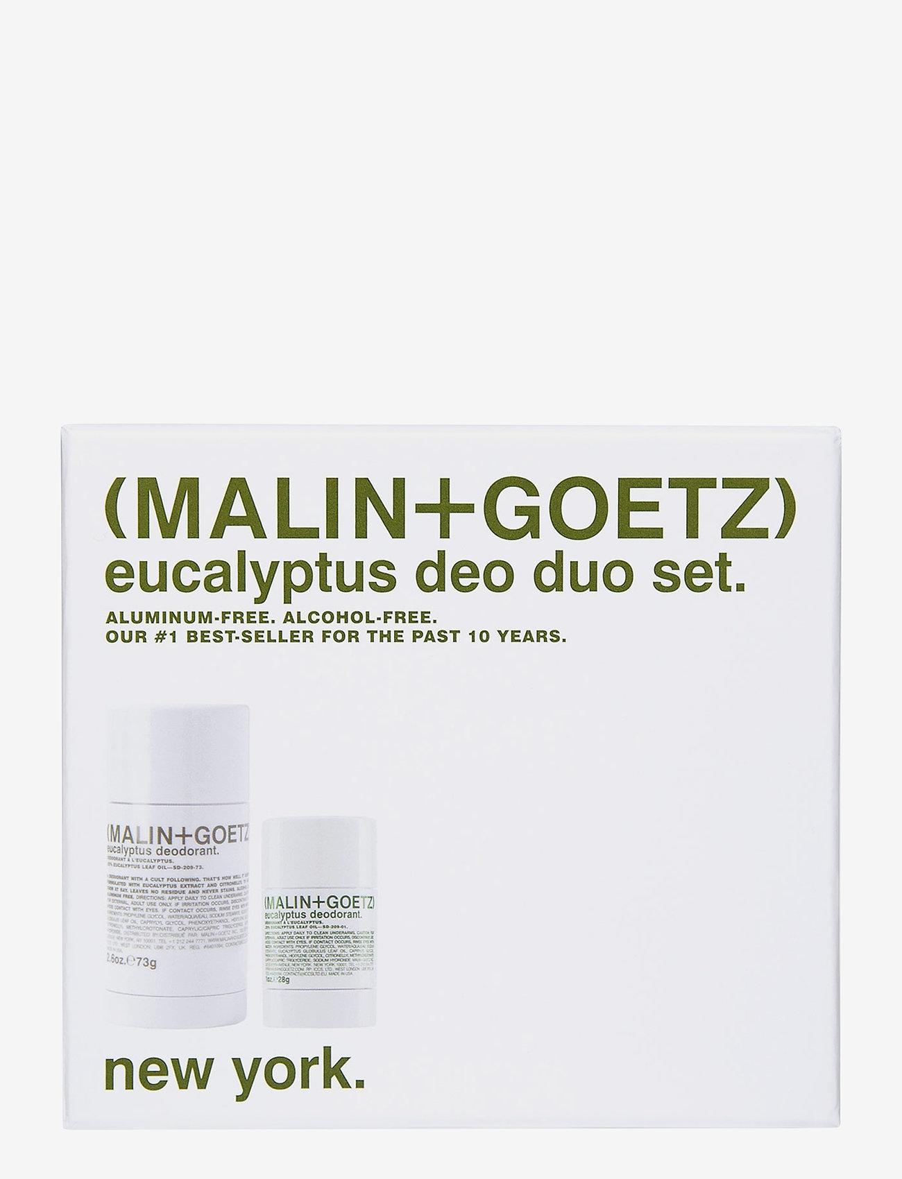 Malin+Goetz - Eucalyptus Deodorant Set - deostift - no colour - 0