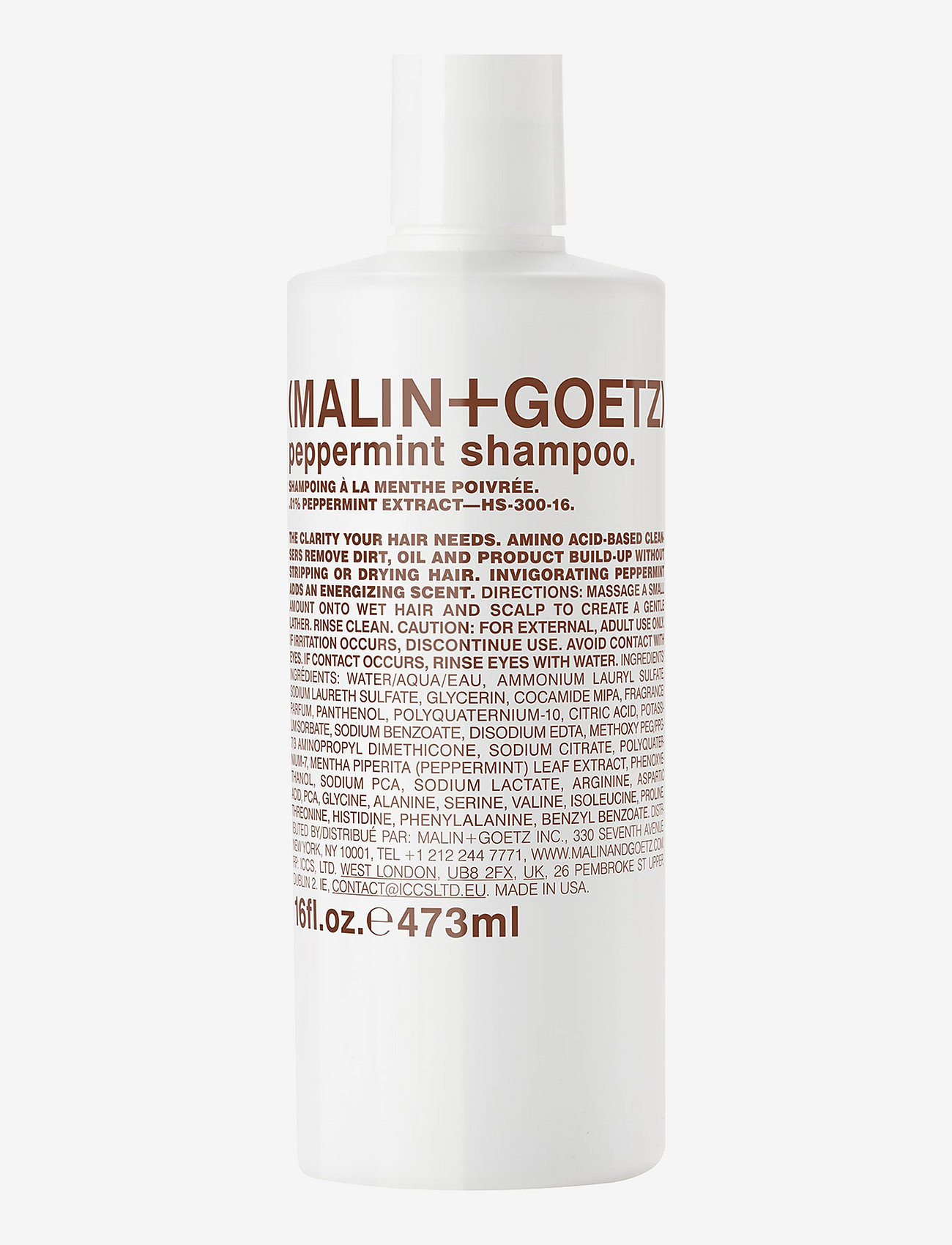 Malin+Goetz - Peppermint Shampoo - shampoo - no color - 0