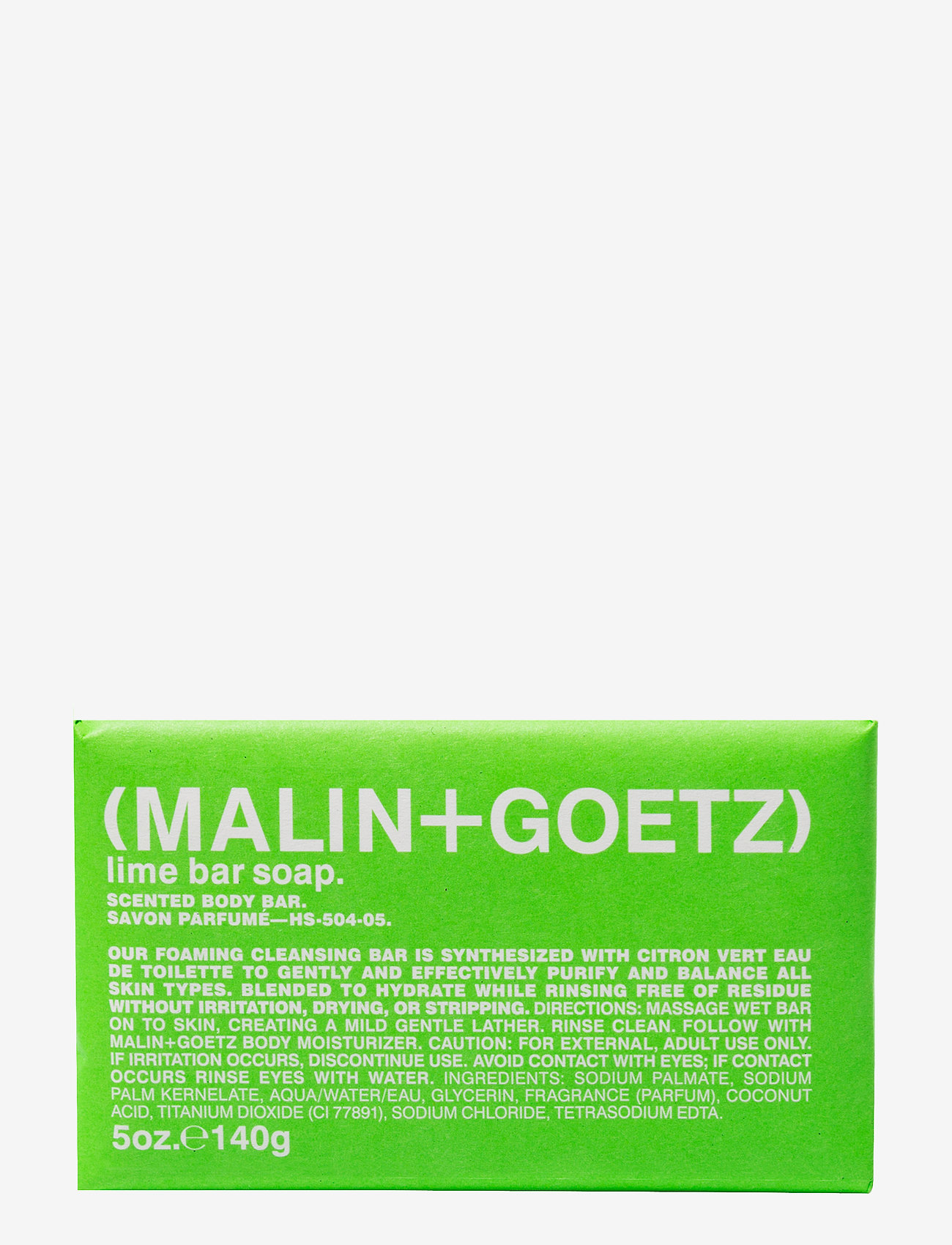 Malin+Goetz - Lime Bar Soap - bad & dusch - no color - 0