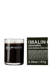 Cannabis Votive Candle - NO COLOUR