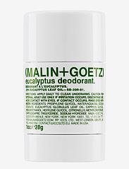 Malin+Goetz - Eucalyptus Deodorant Mini - deostift - no colur - 0