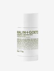 Malin+Goetz - Eucalyptus Deodorant - deostift - no colour - 0