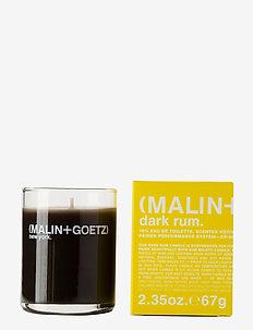 Dark Rum Votive Candle - NO COLOUR