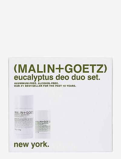 Eucalyptus Deodorant Set - deostift - no colour