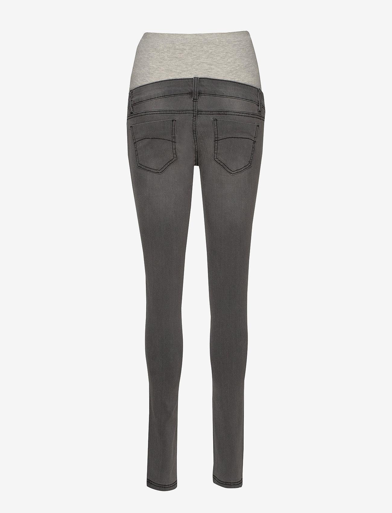 Mamalicious - MLLOLA SLIM GREY JEANS A. NOOS - slim jeans - grey denim - 1