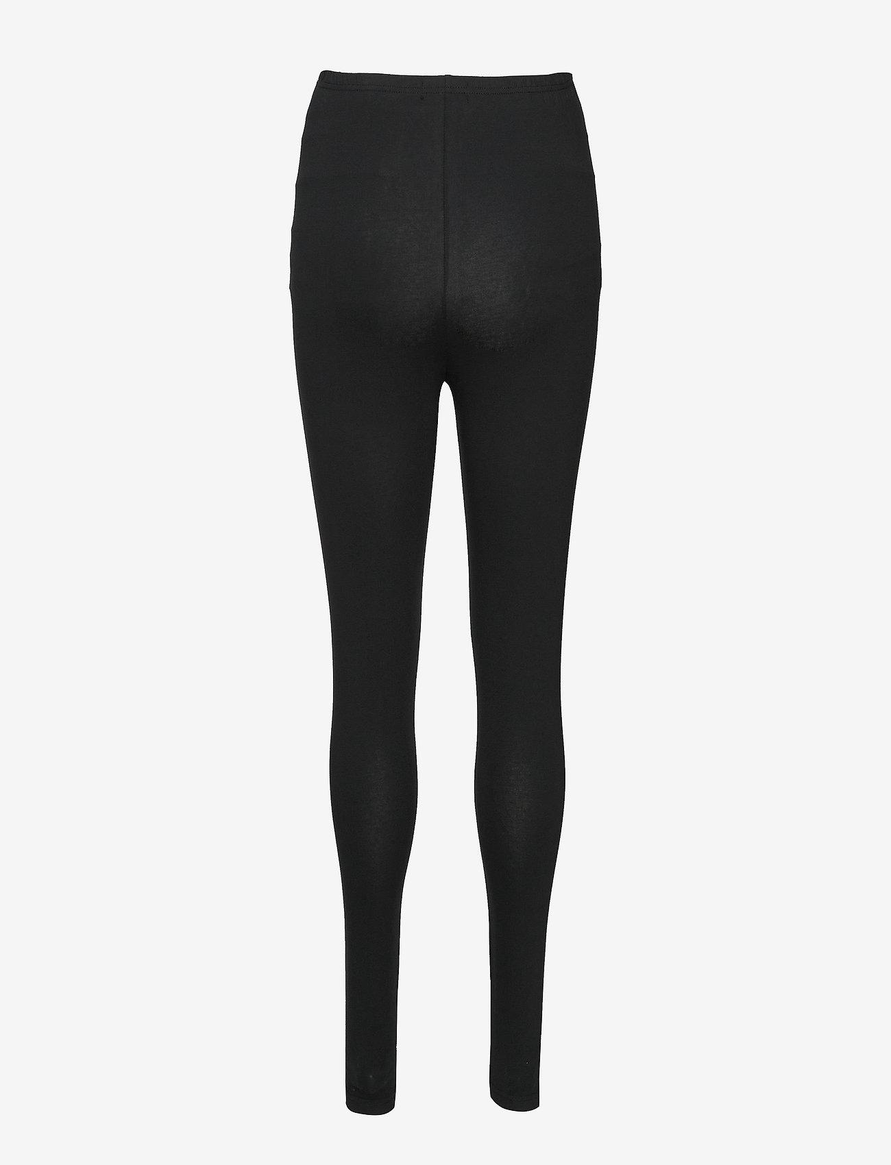 Mamalicious - MLLEA ORG LONG LEGGING 2PACK A. O. NOOS - leggings - black - 2