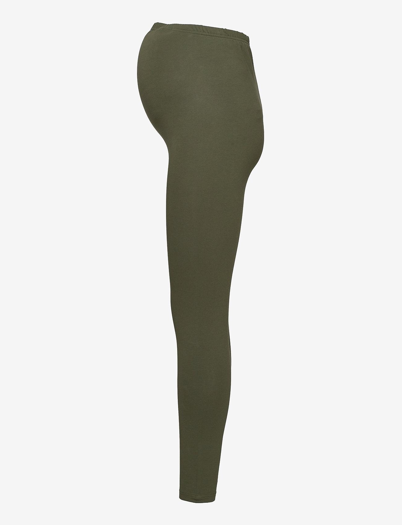 Mamalicious - MLLEA ORG LONG LEGGING 2PACK A. O. NOOS - leggings - black - 4