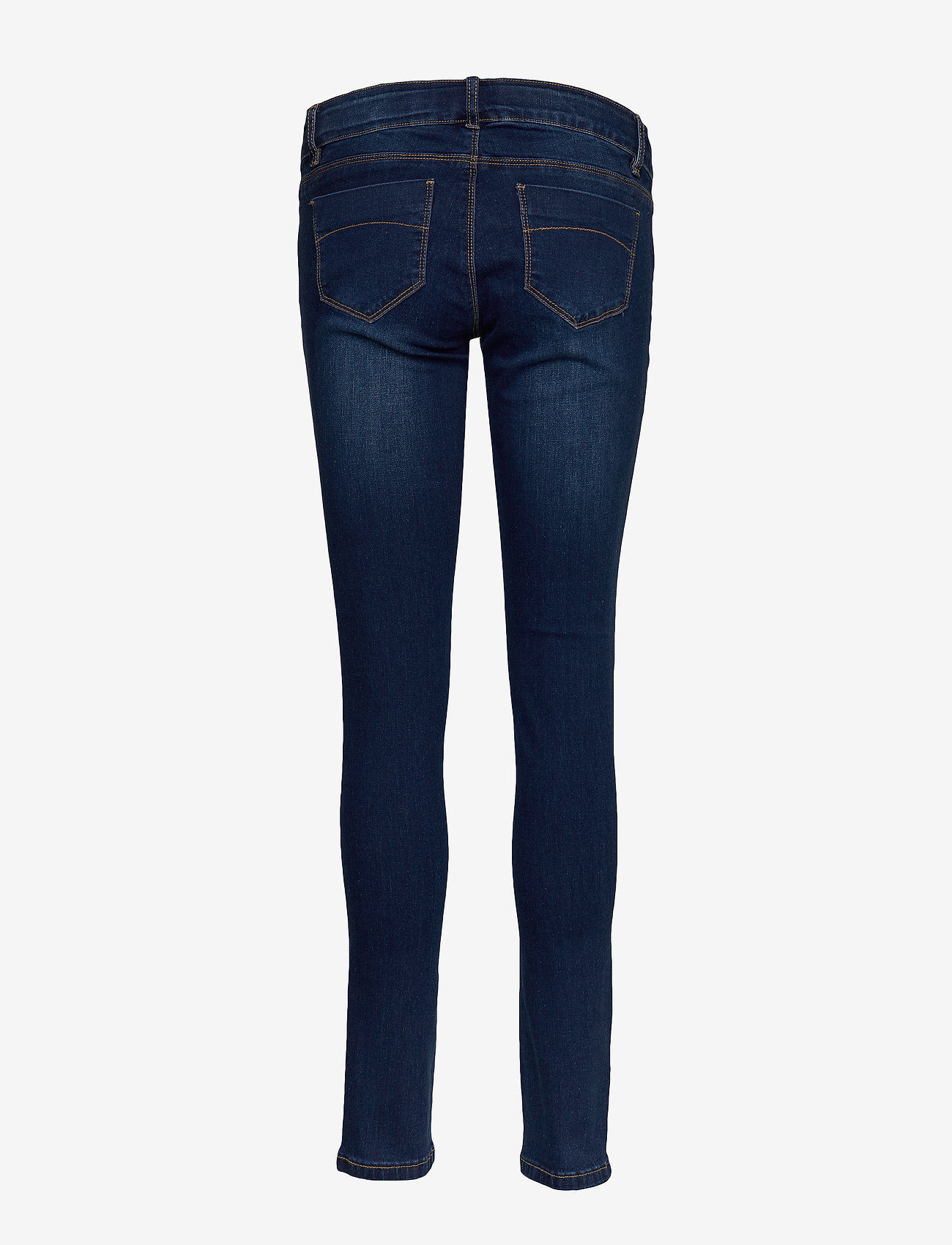 Mamalicious - MLLOLA SLIM DARK BLUE JEANS W ELAST - slim jeans - dark blue denim - 1