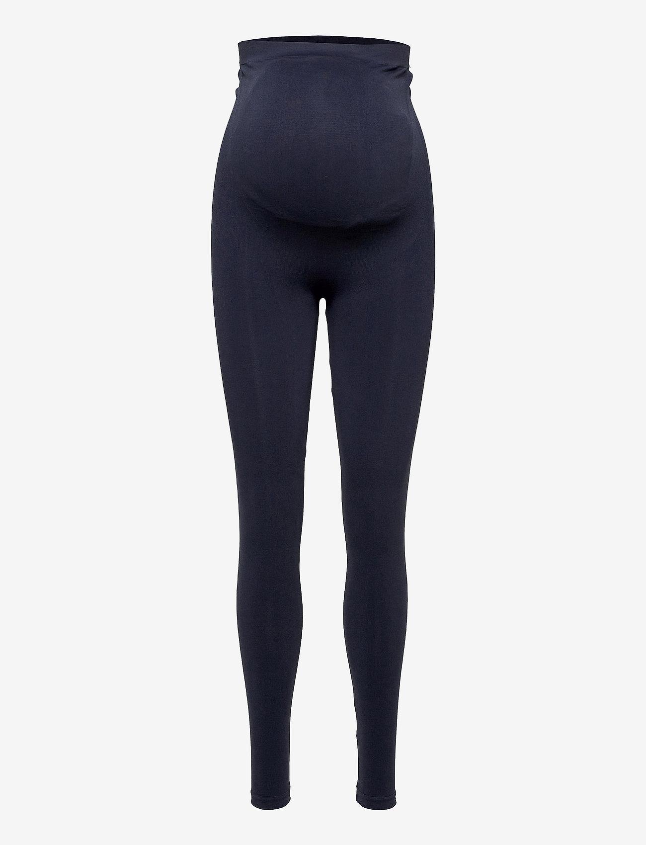 Mamalicious - MLTIA JEANNE LEGGING NOOS O. A. - leggings - navy blazer - 0