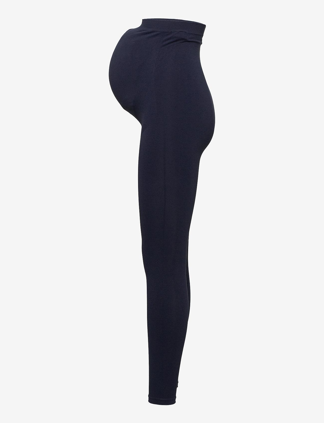 Mamalicious - MLTIA JEANNE LEGGING NOOS O. A. - leggings - navy blazer - 2