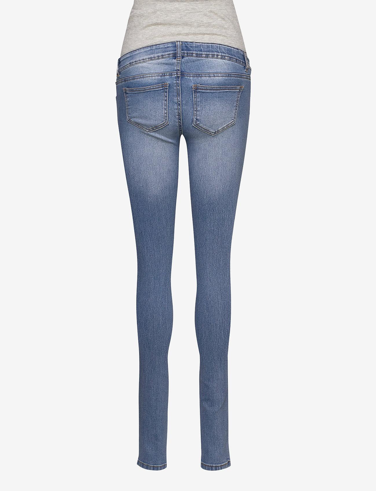 Mamalicious - MLONO SLIM JEANS - slim jeans - light blue denim - 1