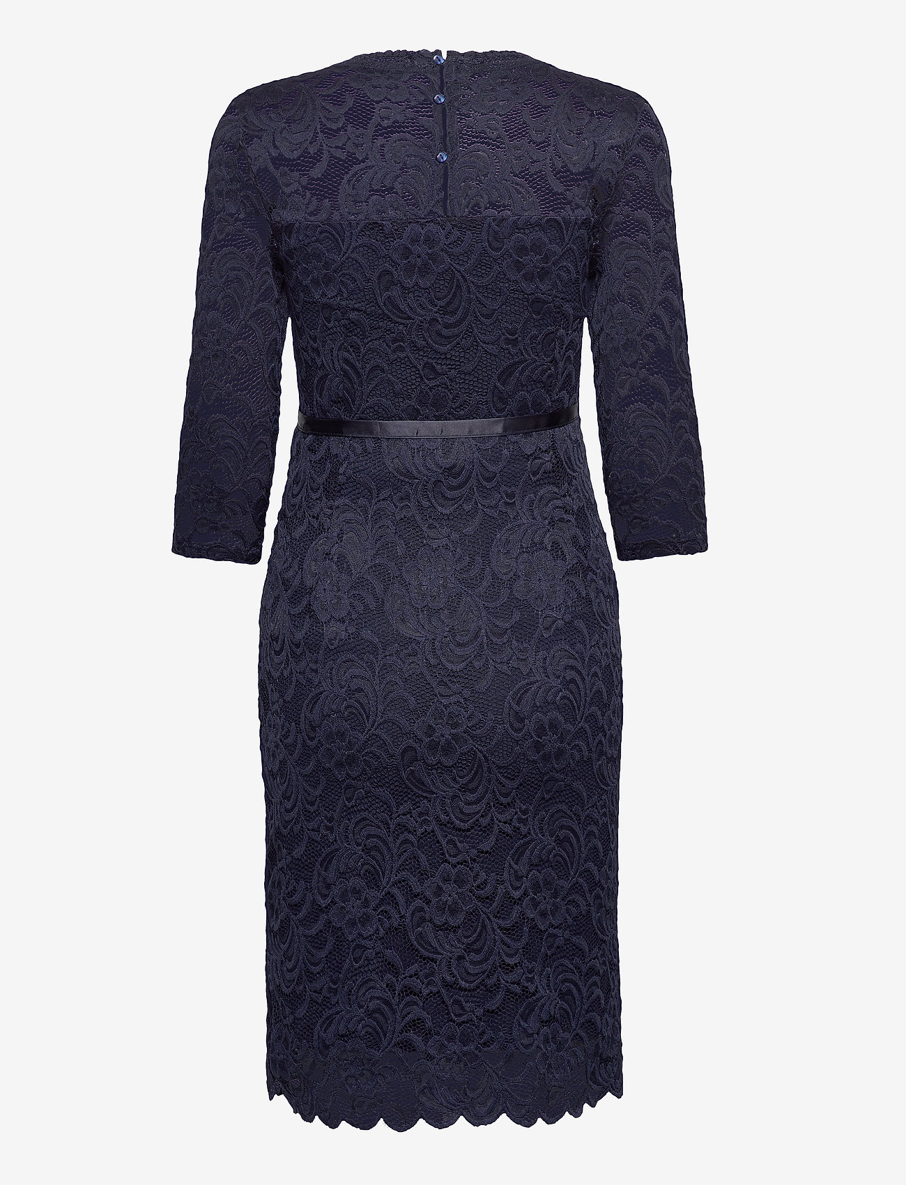 Mamalicious - MLMIVANA 3/4 JERSEY DRESS - bodycon-kjoler - navy blazer - 1