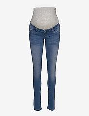 Mamalicious - MLFIFTY 002 SLIM JEANS NOOS A. - slim jeans - medium blue denim - 0