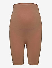 Mamalicious - MLTIA JEANNE SHORTS NOOS O. A. - bottoms - raw umber - 0