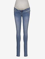 Mamalicious - MLONO SLIM JEANS - slim jeans - light blue denim - 0