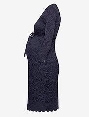 Mamalicious - MLMIVANA 3/4 JERSEY DRESS - bodycon-kjoler - navy blazer - 2