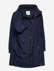 MLSHELLA 3IN1TIKKA SOFTSHELL JACKET NOOS - NAVY BLAZER