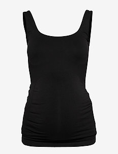 MLHEAL TANK TOP NOOS A. - basic t-shirts - black