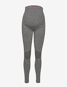 MLFIT ACTIVE TIGHTS NOOS O. A. - running & training tights - medium grey melange