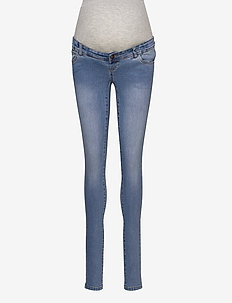 MLONO SLIM JEANS A. NOOS - mom jeans - light blue denim