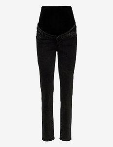 MLELKO BLACK COMFY FIT JEANS A. - slim jeans - black denim