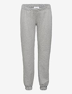 MLNICOLE JERSEY PANTS - broeken - light grey melange