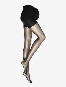 MLSABRINA SUPPORT PANTYHOSE 2P - ondergoed - black