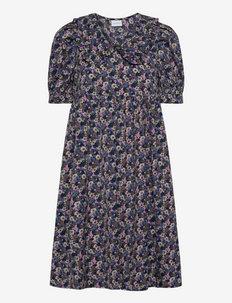 MLASTRID 2/4 WOVEN ABK DRESS - igapäevased kleidid - black