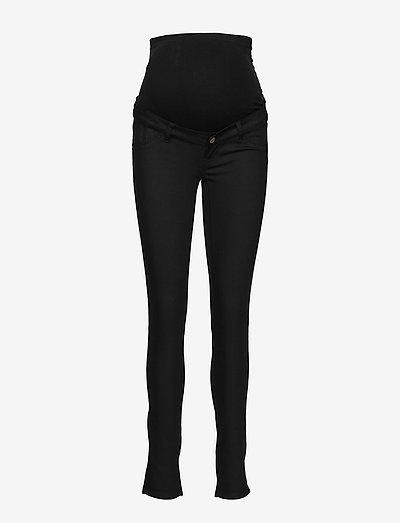 MLJULIANE SLIM PANT A. NOOS - slim fit broeken - black