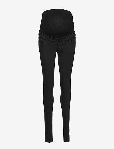 MLLOLA SLIM BLACK JEANS - slim jeans - black