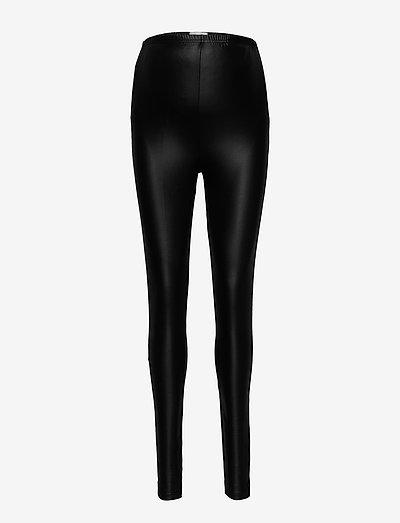 MLNEWTESSA JERSEY HW LEGGINGS - skinnbukser - black