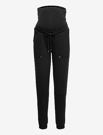 MLMANILA SWEAT PANTS A. - klær - black