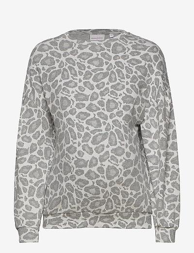 MLGEO L/S JERSET SWEAT - sweatshirts - light grey melange