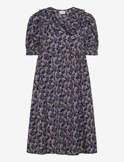 MLASTRID 2/4 WOVEN ABK DRESS - hverdagskjoler - black