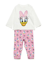 Daisy long pyjama - PINK