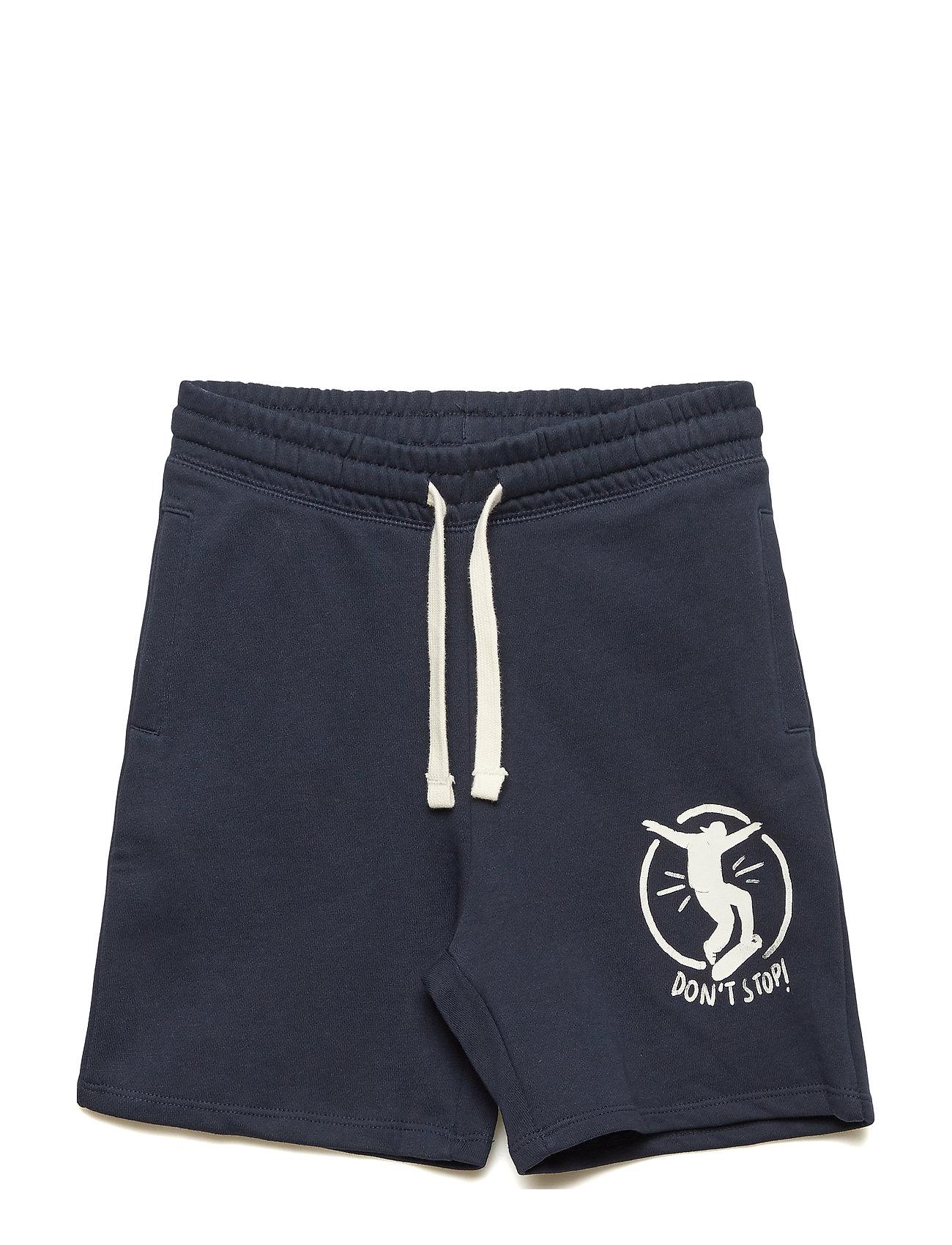 Printed Cotton Bermuda Shorts - Mango Kids