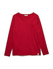 Pocket cotton t-shirt - RED
