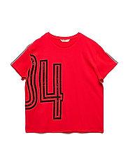 Race print t-shirt - RED