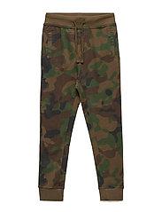 Camo-print jogging trousers - BEIGE - KHAKI