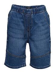 Comfy-Fit Denim Bermuda Shorts