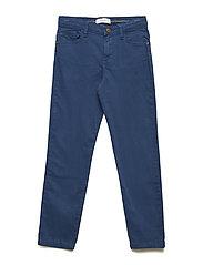 Pocket slim trousers - MEDIUM BLUE