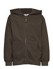 Pocket cotton sweatshirt - BEIGE - KHAKI