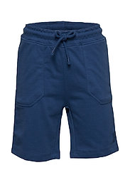 Elastic Waist Bermuda Shorts Shorts Blå MANGO KIDS