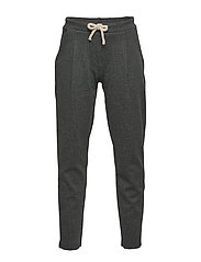 Pinstripe jogging trousers - MEDIUM GREY