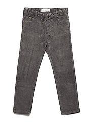 Five pocket corduroy trousers - GREY