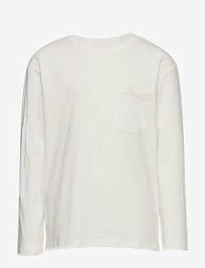 Pocket cotton t-shirt - WHITE