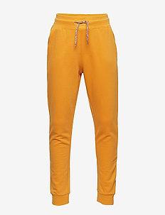 Cotton jogging trousers - MEDIUM YELLOW