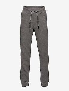 Contrast jogging trousers - MEDIUM GREY