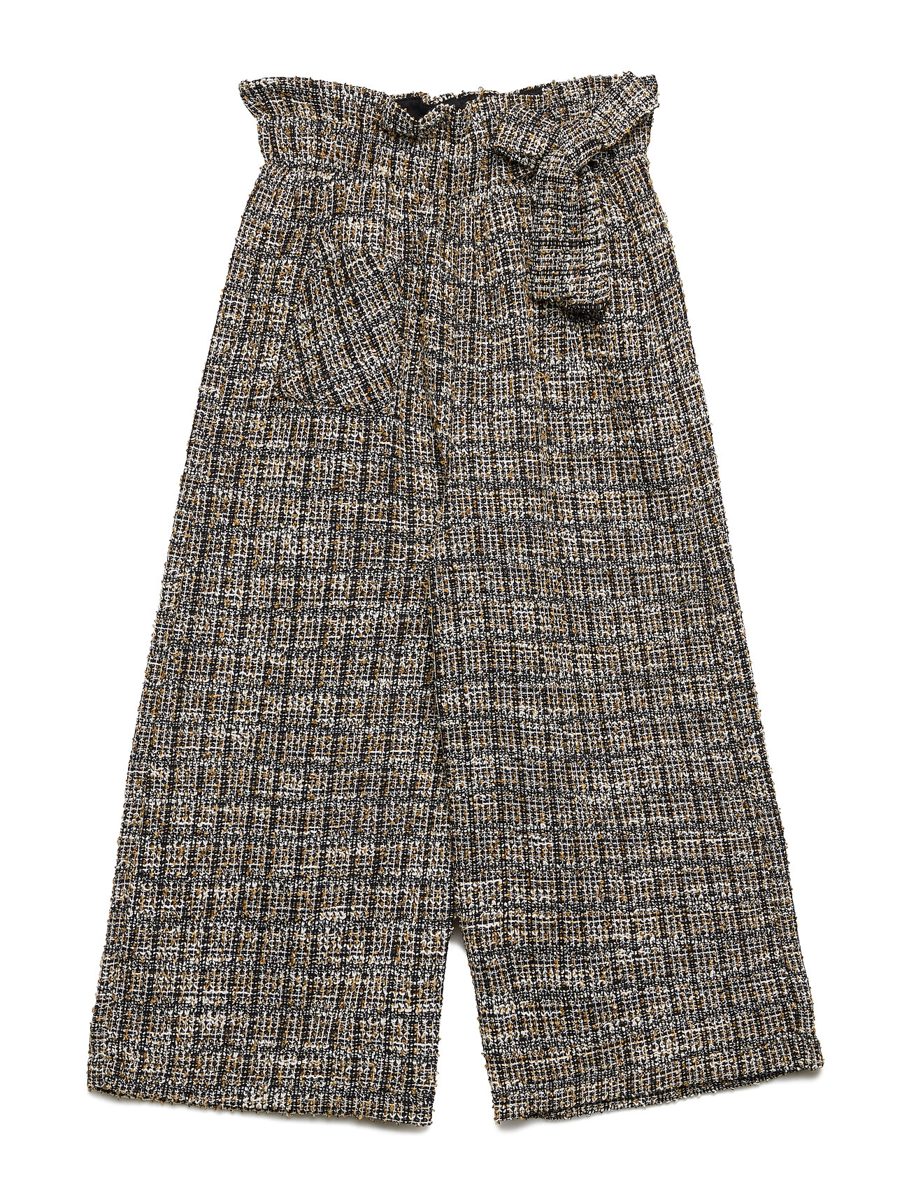Mango Kids Tweed culotte trousers
