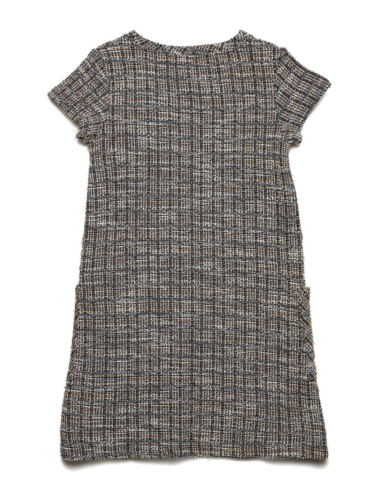 2548232169a7 Sort Mango Tweed Dress kjoler for børn - Pashion.dk